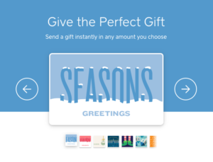 sweet soul holiday gift card popup
